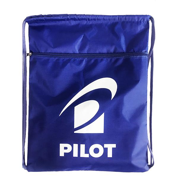 В подарок Сумка-мешок с карманом на молнии PILOT