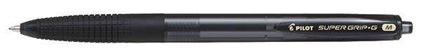 В подарок шариковая ручка PILOT Super Grip G черная 1мм