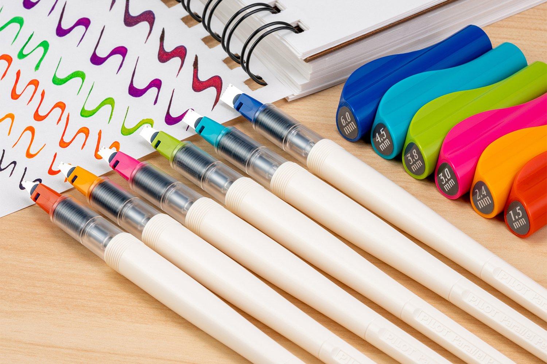 Каллиграфические ручки Pilot Parallel Pen в новом корпусе